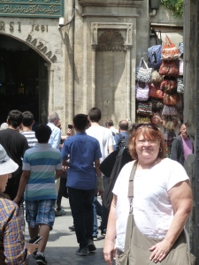 Cheryl at the Grand Bazaar