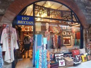 More Scarves in the Arasta Bazaar